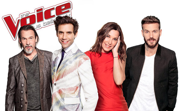 Photo officielle des jurés the voice 6 sur TF1
