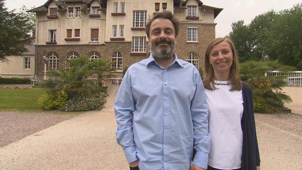 Avis et commentaires sur Vincent et Silvana dans Bienvenue à l'hôtel / Photo TF1
