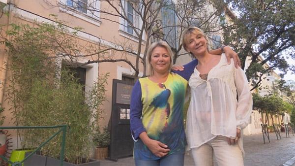 Avis et commentaires sur la maison d'hôtes de Viviane et Sophie dans Bienvenue chez nous / Photo TF1