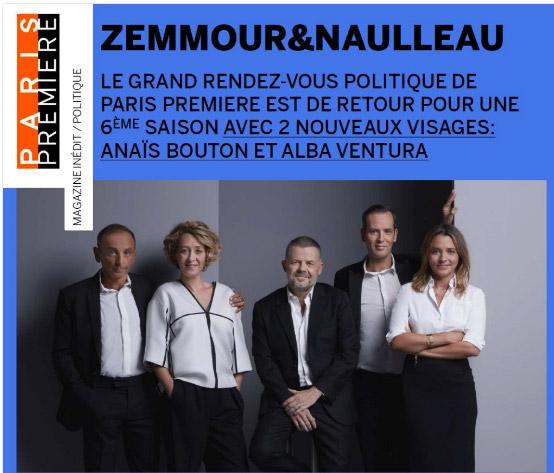 Vos avis sur le nouveau Zemmour et Naulleau / Capture écran