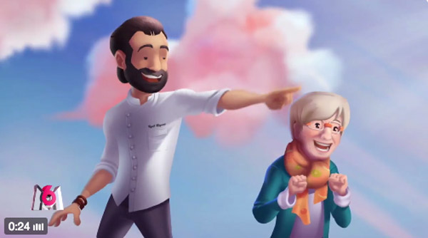 Le meilleur pâtissier version dessin animé avec la bande annonce 2016