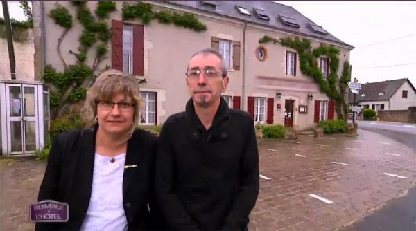 Avis et commentaires sur l'hôtel de Nathalie et Christian dans Bienvenue à l'hôtel