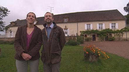 Avis chambres d'hôtes et adresse Ghislaine et Matthew de Bienvenue chez nous. Crédit photo TF1