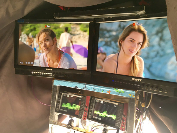 Elodie Varlet débarque dans Camping Paradis  / Photo twitter