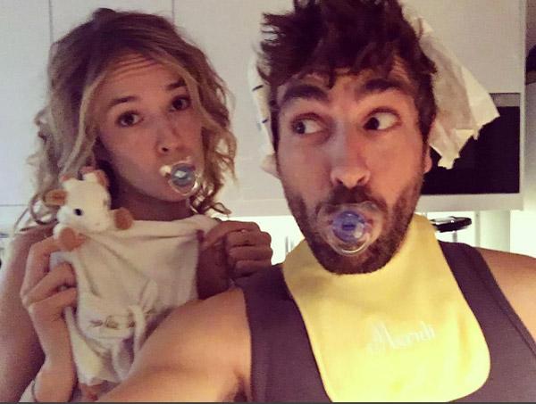Alyzee et Adrian parents : ça les fait devenir gaga / Photo instagram agustingaliana
