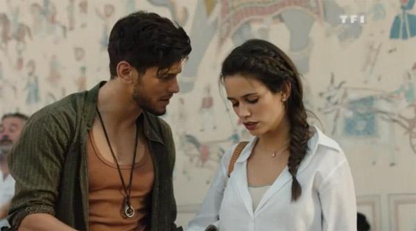 Ravi et Anne la love story TF1 à Jaipur