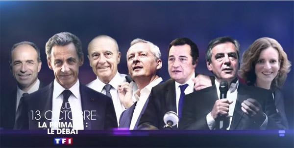 Vos commentaires sur le débat de la primaire de droite du 13 octobre 2016 sur TF1
