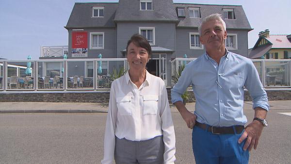 Vos avis et commentaires sur l'hôtel d'Elisabeth et Luc de Bienvenue à l'hôtel / Photo TF1