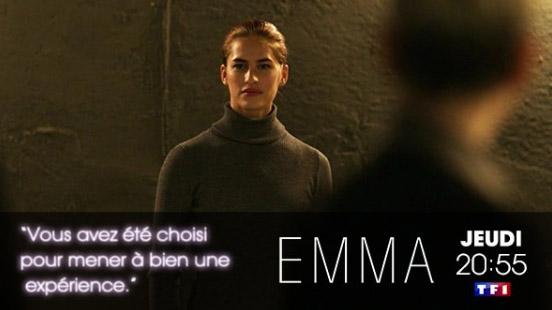 Les commentaires sur Emma la nouvelle série de TF1 / Photo @lesseriesTF1