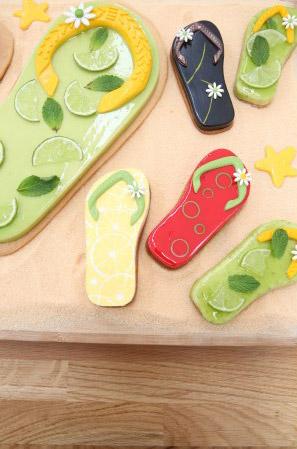 Recette et visuel du gâteau décor de vacances aux fruits de Arnaud Larher #LMP / / Photo Marie Etchegoyen-M6