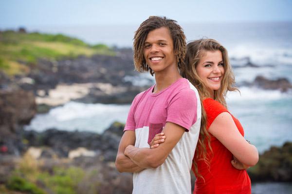 Jules et Lulu dans Facebook Live pour Cut saison 4 / Photo France 0
