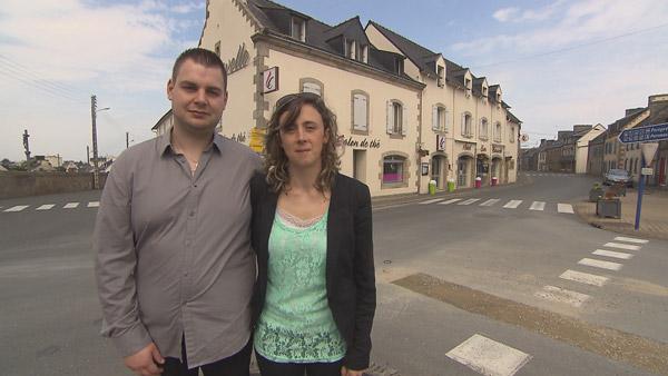 Avis et commentaires sur l'hôtel breton de Nadège et Damien dans Bienvenue à l'hôtel / Photo TF1