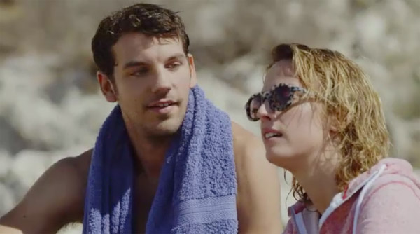 Mitia et Coralie en mode plongée ... mais Mitia est amoureux d'une autre