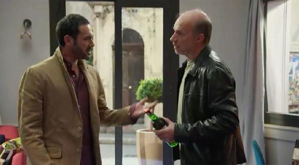 Castelli veille sur Francesco : il veut pas qu'il replonge dans l'alcool