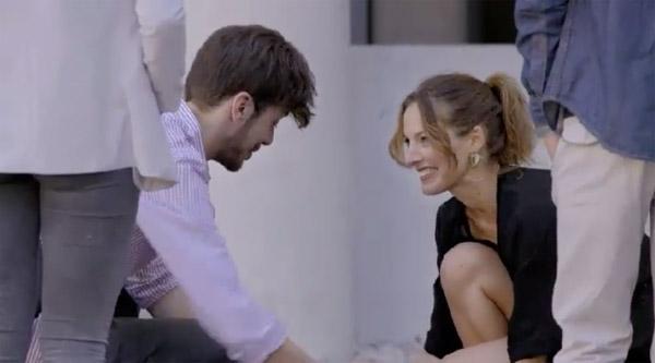 Estelle et Lucas la fausse love story pour tenter de le piéger ?