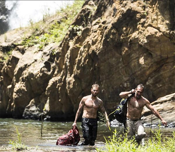 Matt Pokora torse nu dans A l'état sauvage sur M6