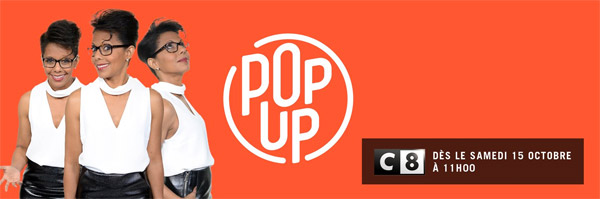 Quelle audience pour Pop Up d'Audrey Pulvar ?