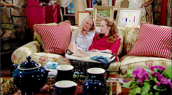 Sharon et Mariah mère et fille : le secret de Genoa City