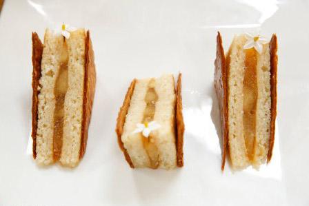 Recette et visuel de la tarte aux pommes revisitée de Cyril Lignac le 12/10/2016 #LMP / Photo Marie Etchegoyen-M6