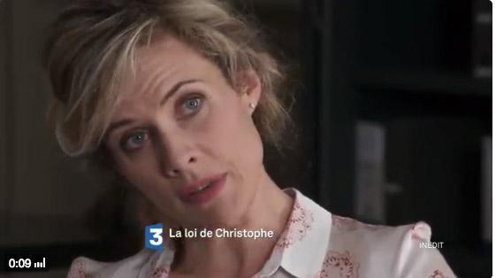 Qui joue Christine dans La loi de Christophe? Virginie Desarnaults de Premiers baisers