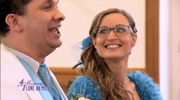Mariage de Jérémy et Aurore sur TF1 dans 4 mariages pour une lune de miel