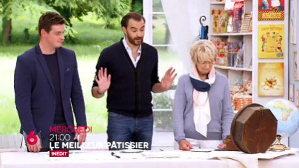 Christophe Renou en juge du meilleur pâtissier saison 5 de M6