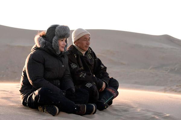 Que pensez vous de Mélanie Doutey dans RDV en terre inconnue ? / Credit : © Jean-Michel TURPIN - ADENIUM TV FRANCE