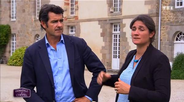 avis sur l'hôtel de Sonia et Arnaud de Bienvenue à l'hotel sur TF1 avec l'adresse