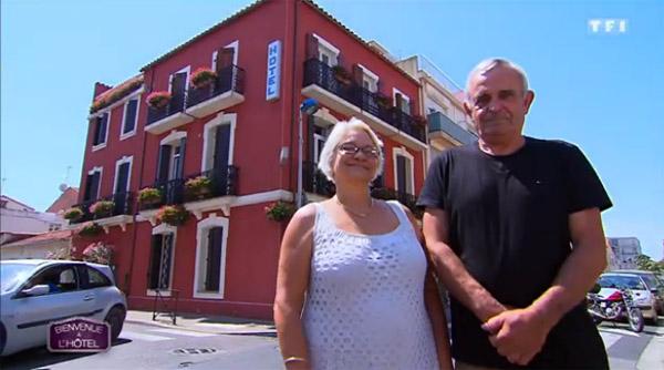 Avis et commentaires sur l'hôtel de Martine et Denis dans Bienvenue à l'hôtel