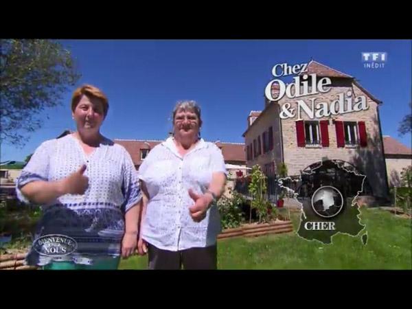 Avis sur la maison d'hôtes d'Odile et Nadia dans Bienvenue chez nous sur TF1