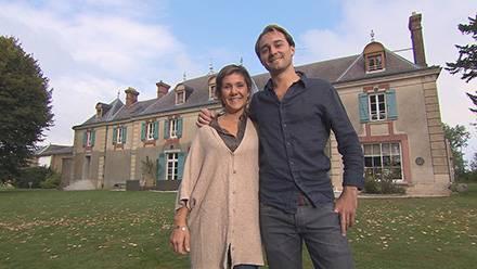 Bienvenue chez nous inédit avec Mélodie et Abel et leur maison d'hôte près de Paris dans l'Essonne / photo TF1