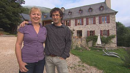 Avis et adresse pour la maison gîte de Sylvie et Patrice de Bienvenue chez nous dans le 65 près des montagnes. Crédit photo TF1