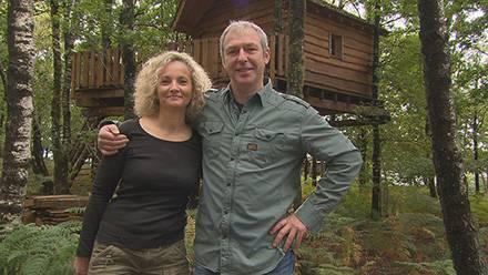 Avis cabanes Liliane et Fréderic de Bienvenue chez nous avec les adresses / Crédit photo TF1