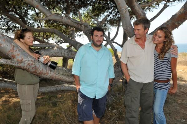 Philippe Caroit déjà guest dans Camping Paradis il y a 5 ans  / Crédit photo promo TF1