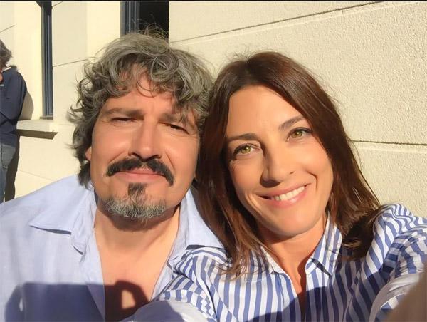 Eve Angeli et José à Love Island pour #LMDLA / Crédit photo facebook Eve Angeli pour la promo de la série.