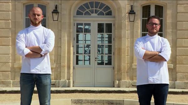 Carl et Arnaud en duo final d'Objectif Top Chef