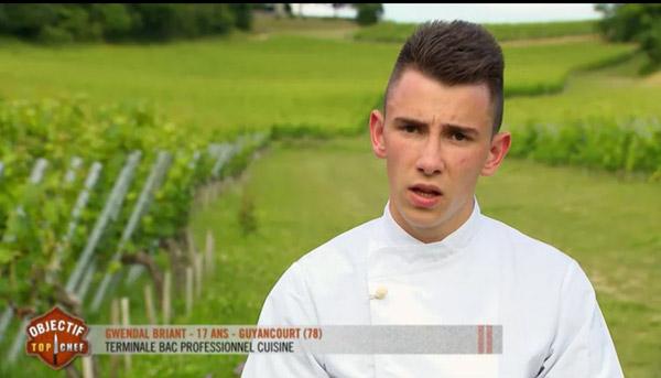 Gwendal part en finale d'Objectif Top Chef saison 3