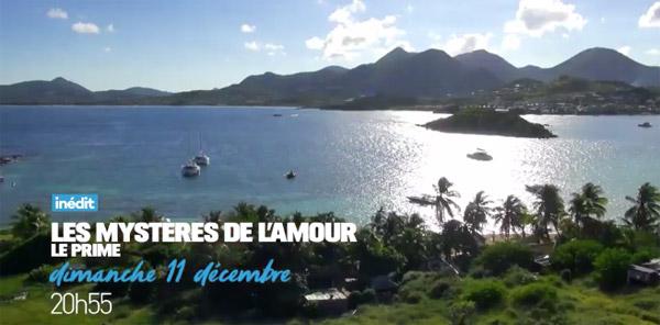Décor paradisiaque à Love Island dans #LMDLA