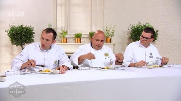 Les mentors jugent les candidats Objectif Top Chef : Antonin quitte le concours
