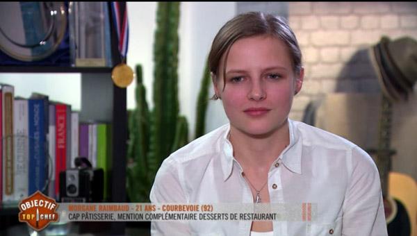 Morgane Raimbaud est la gagnante du jour d'Objectif Top Chef