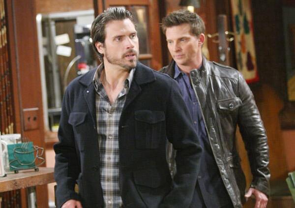 Nick et Dylan font la paix dans les feux de l'amour de TF1