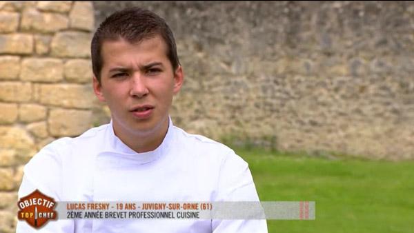Lucas Fresny peut-il être le gagnant Objectif Top Chef ?
