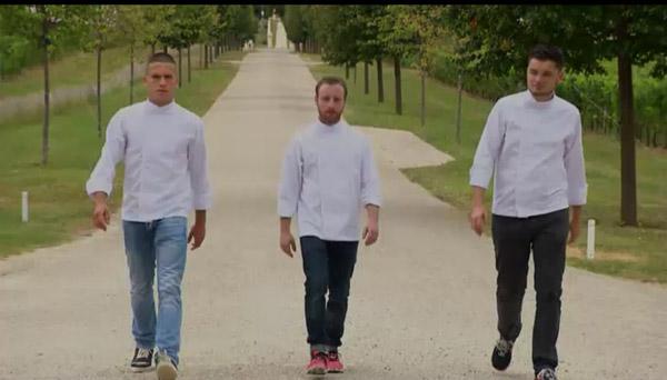 Paul, Mike et Zacharrie dans la demi-finale d'Objectif Top Chef le 24/11