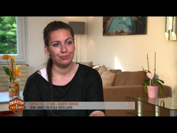 Sophie Vaz qualifiée pour Objectif Top Chef