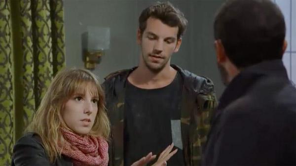 Francesco énervé de voir Mitia avec Barbara au petit matin