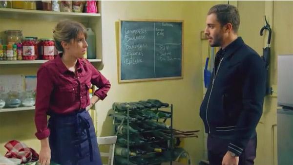 Abdel vient voir Barbara par rapport à Mitia / Francesco