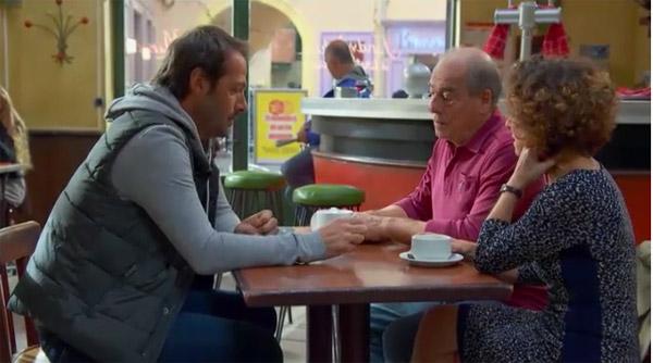 Franck inquiet pour Blanche : il se confie à Roland et Mirta
