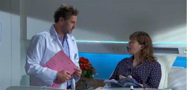 Berger et Blanche se rapprochent, Coralie mal à l'aise