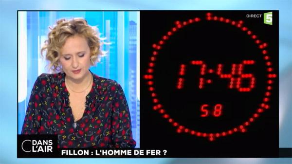 C dans l'air avec Caroline Roux a réussi à faire oublier Yves Calvi sur France 5 / Capture écran