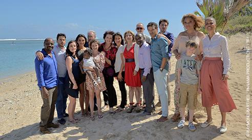 L'après mariage de Reine et Rafael à La Reunion dans Une famille formidable